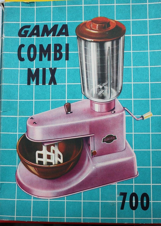 Gama Combi de Mix 700 Chapa juguete Licuadora 50 50s Vintage ...