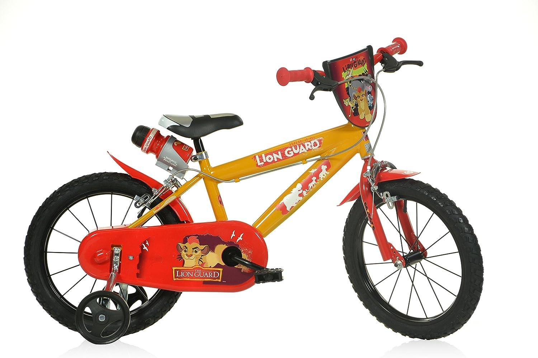 12 14 16 Zoll Lion Guard König der Löwen Kinderfahrrad Kinderrad Spielrad Fahrrad Rad Bike DINO-Bike (16 Zoll)