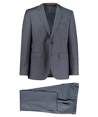 new styles first rate outlet boutique BOSS Hugo Herren Anzug Jeffrey/Simmons182 Regular Fit Marine ...