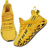 UMYOGO Boys Girls Shoes Tennis Running Lightweight Breathable Sneakers for Kids