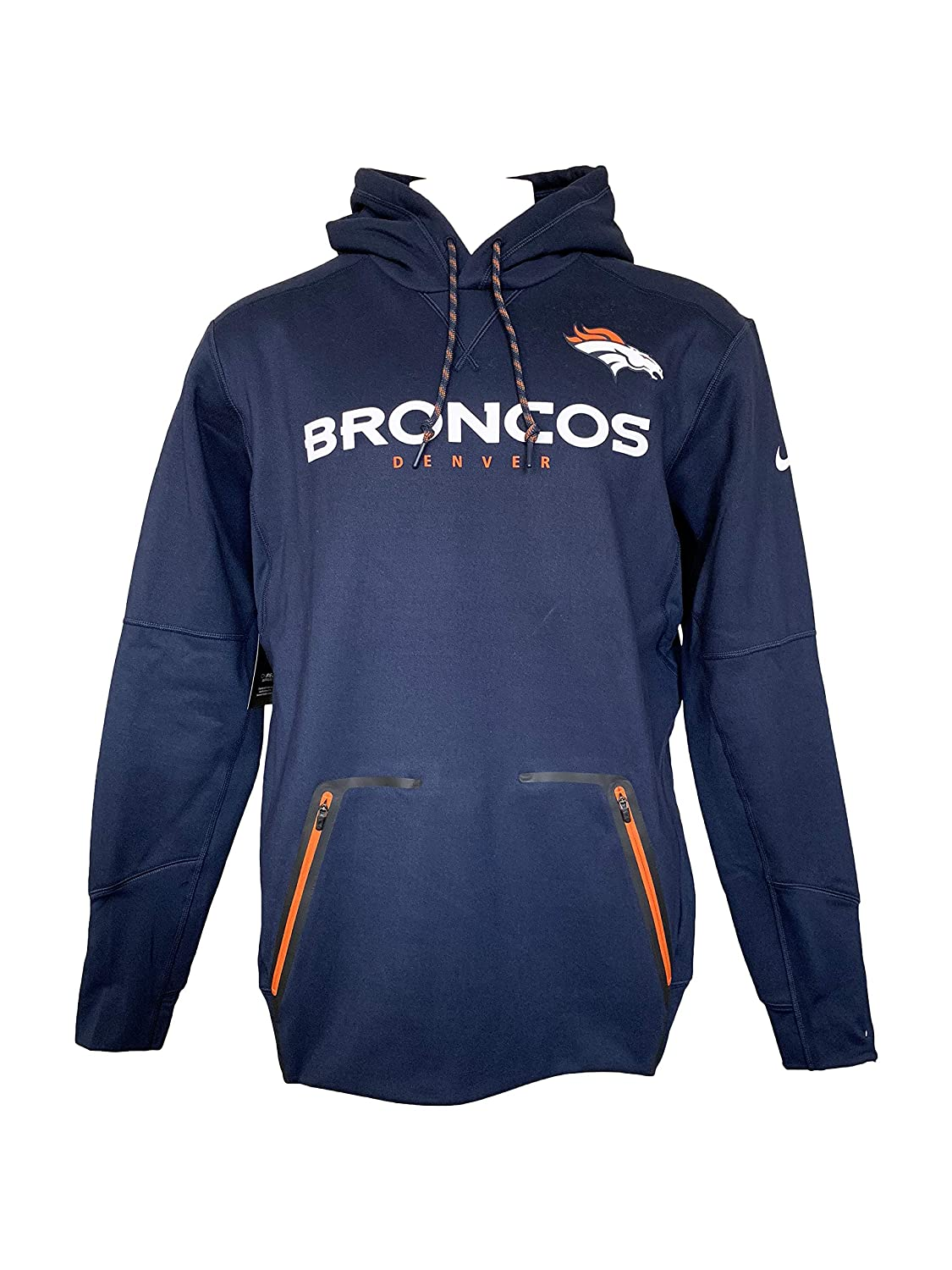 Nike NFL Denver Broncos Therma Player Pullover Hoodie
