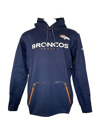 san francisco 07b4d 5ff02 Amazon.com: Nike NFL Denver Broncos Therma Player Pullover ...