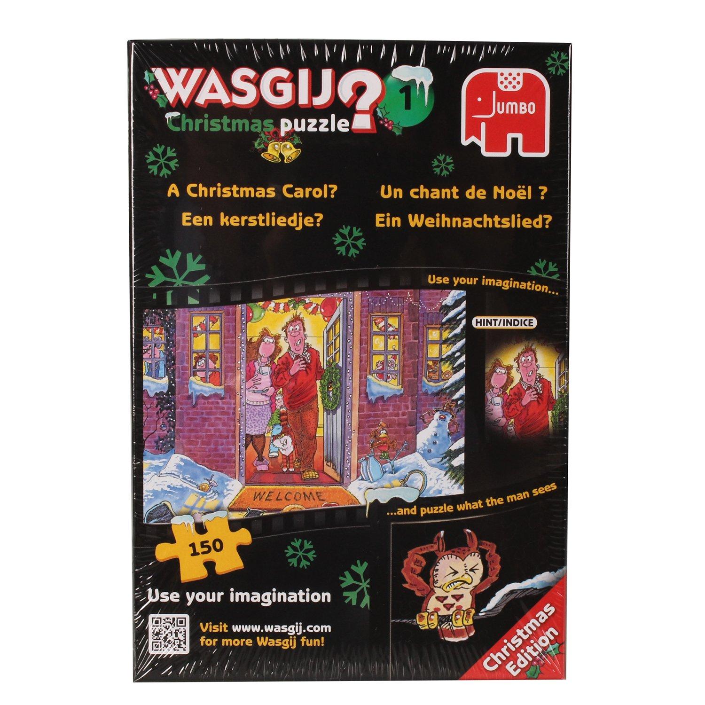 Jumbo 17130 - Wasgij Xmas 1 - Ein Weihnachtslied, 150 Teile Puzzle ...