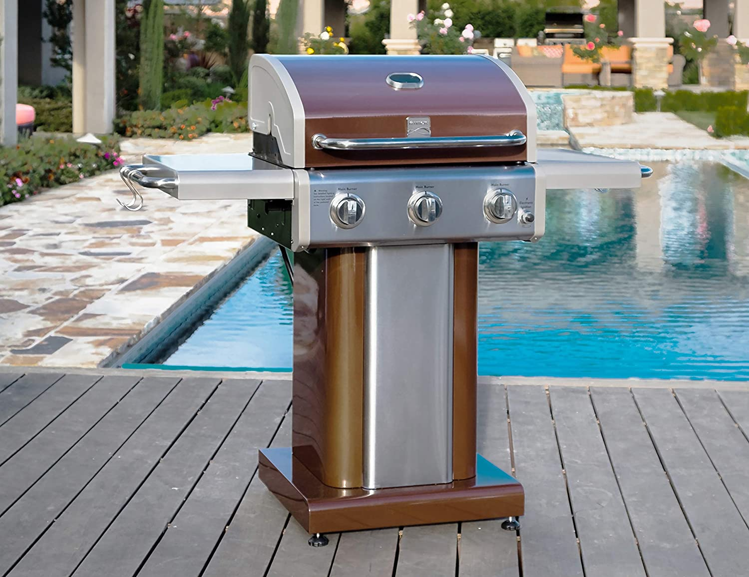 Review Kenmore PG-4030400L-AM 3 Burner Outdoor Patio Gas ...