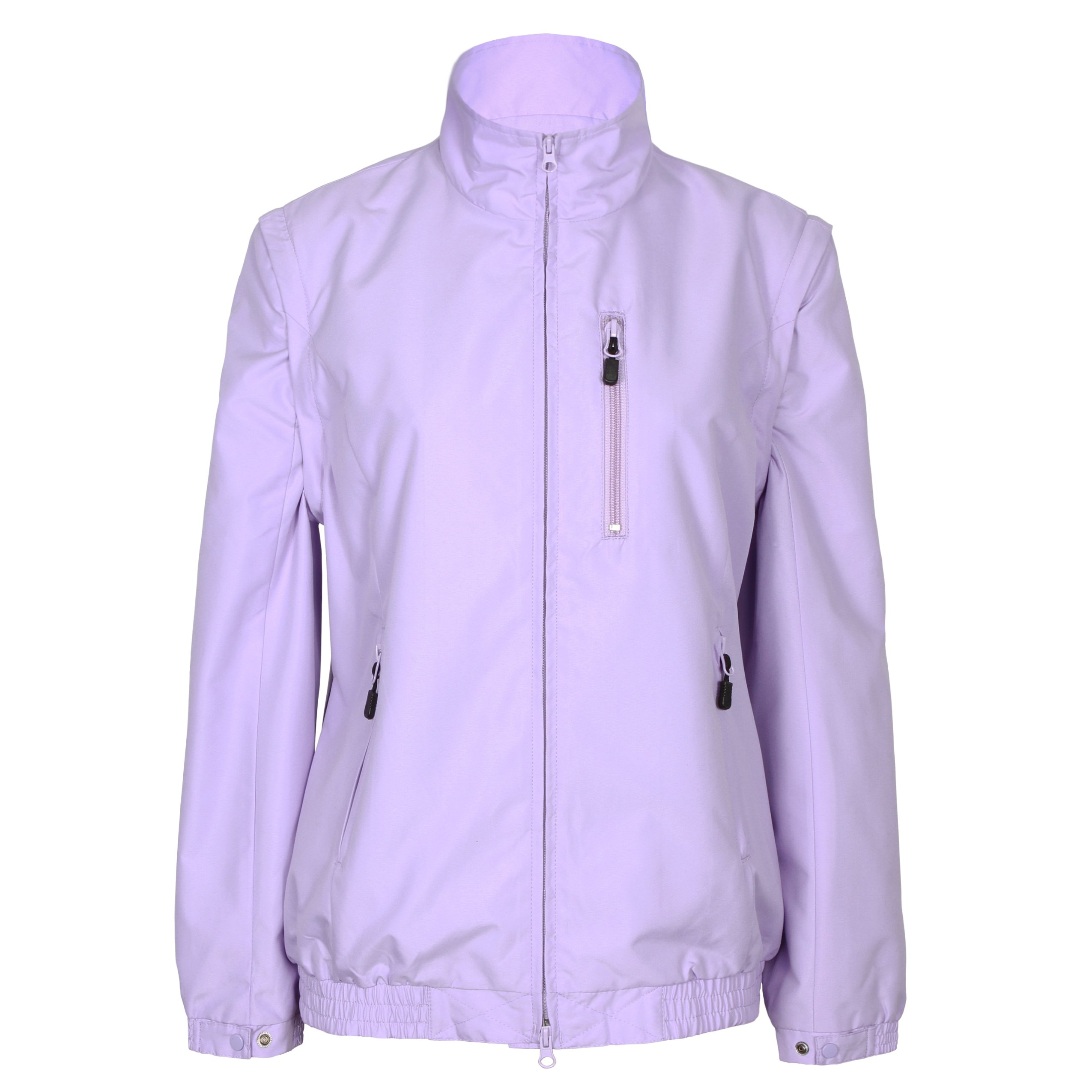 Tres Bien Golf Women's 2 in 1 Convertible Jacket / Vest (Small, Lilac) by Tres Bien Golf