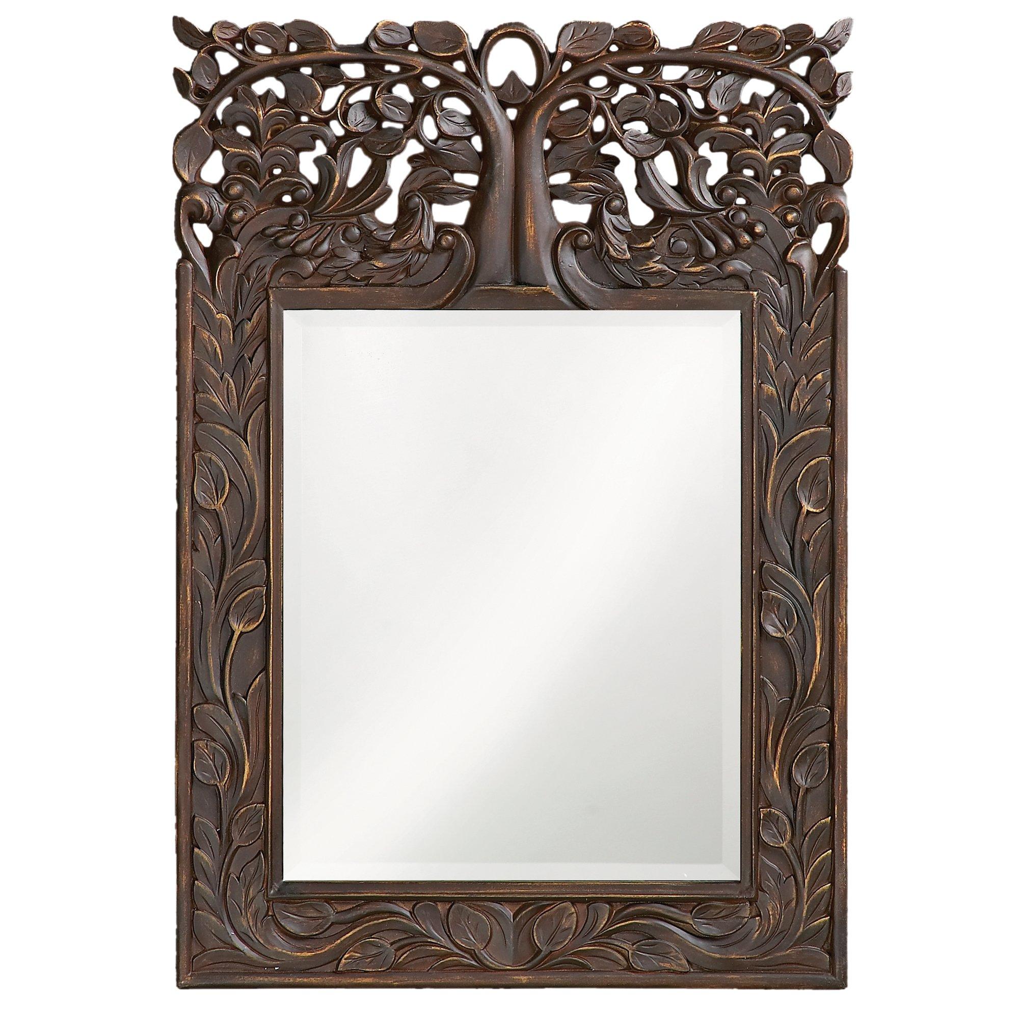 Howard Elliott 4084 Oakvale Mirror, French Brown
