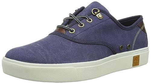 Mode Timberland Amherst Oxford Low Schuhe Herren Blau