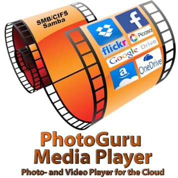 PhotoGuru Media Player - Photo and Video Player for the Cloud