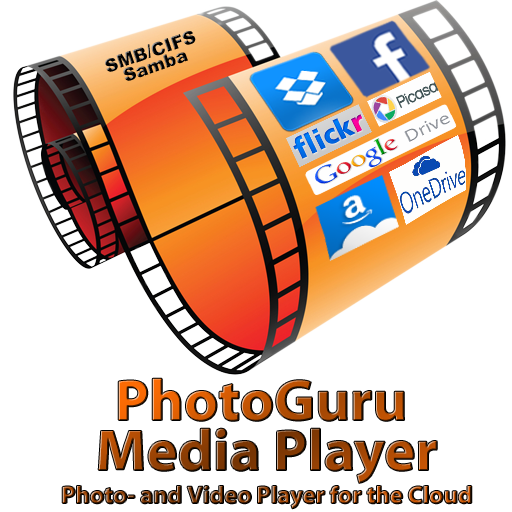 Photoguru Media Player   Photo And Video Player For The Cloud