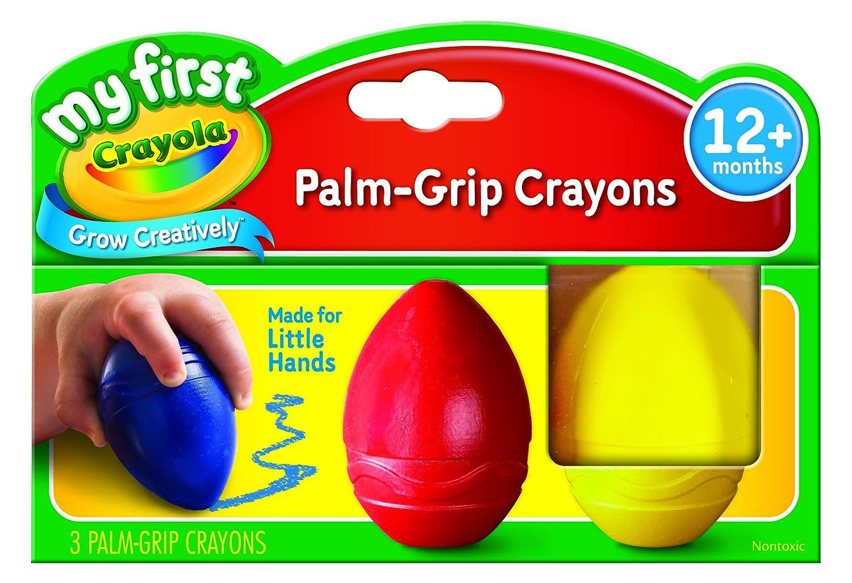 Easy-Grip Crayola My First Egg Crayons