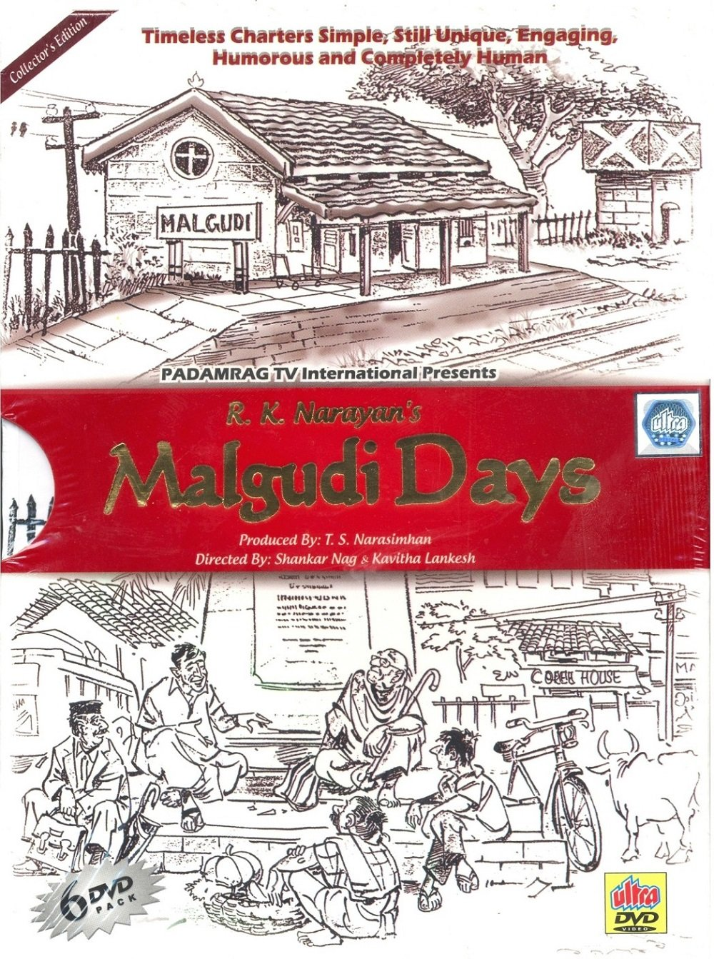 Amazon.in: Buy Malgudi Days - 6 Dvd Premium Pack DVD, Blu-ray Online ...