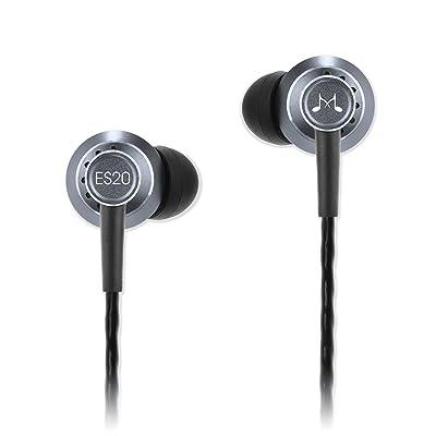 SoundMAGIC ES20-SV - Auriculares in-ear, negro