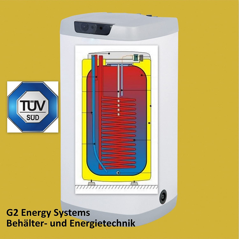 125 Liter L indirekt beheizter Warmwasserspeicher Boiler ...