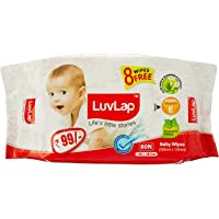 LuvLap Baby Wet Wipes 80's Pack of 1