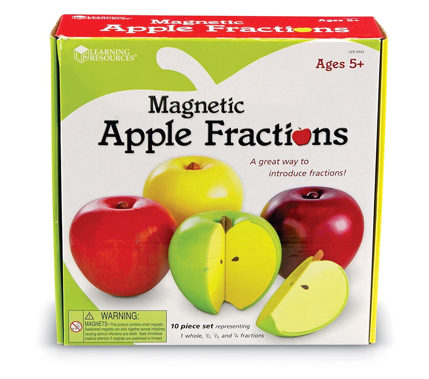 magnetic apple fractions real life world