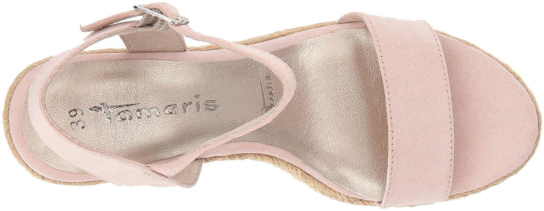 Tamaris Damen RiemchenSandale 28300 RiemchenSandale Damen Pink (Rose) 6f301f