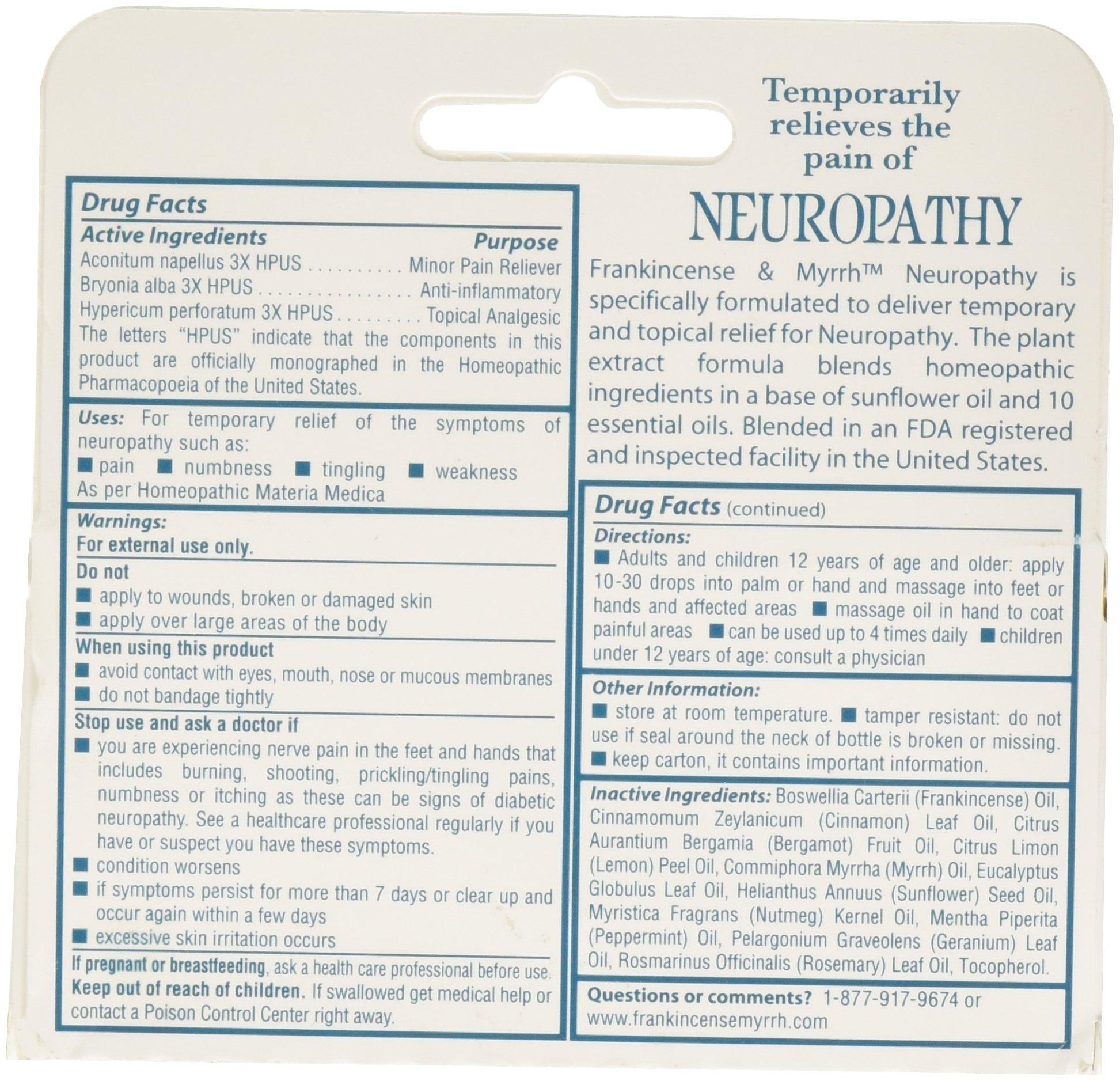 Frankincense Amp Myrrh Neuropathy Rubbing Oil Cbd King Net