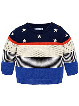 55ba335d2 Mayoral - Striped Sweater for Baby-Boys - 2302