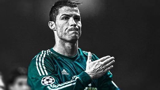 Canvas canvas35 Cristiano Ronaldo Real Madrid fútbol A1 tamaño ...