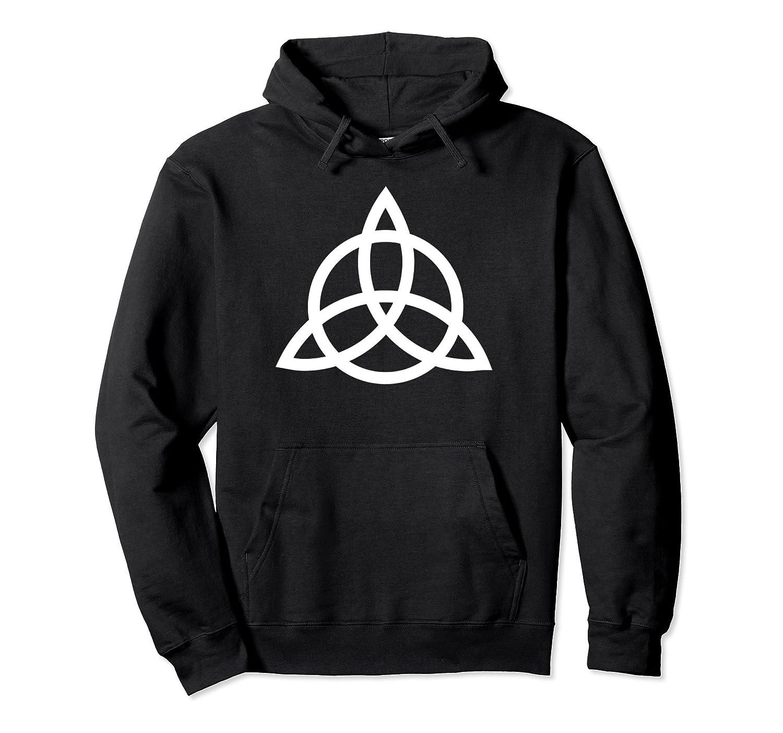 Triquetra Pagan Goddess Spiritual Trinity Symbol Hoodie Colonhue
