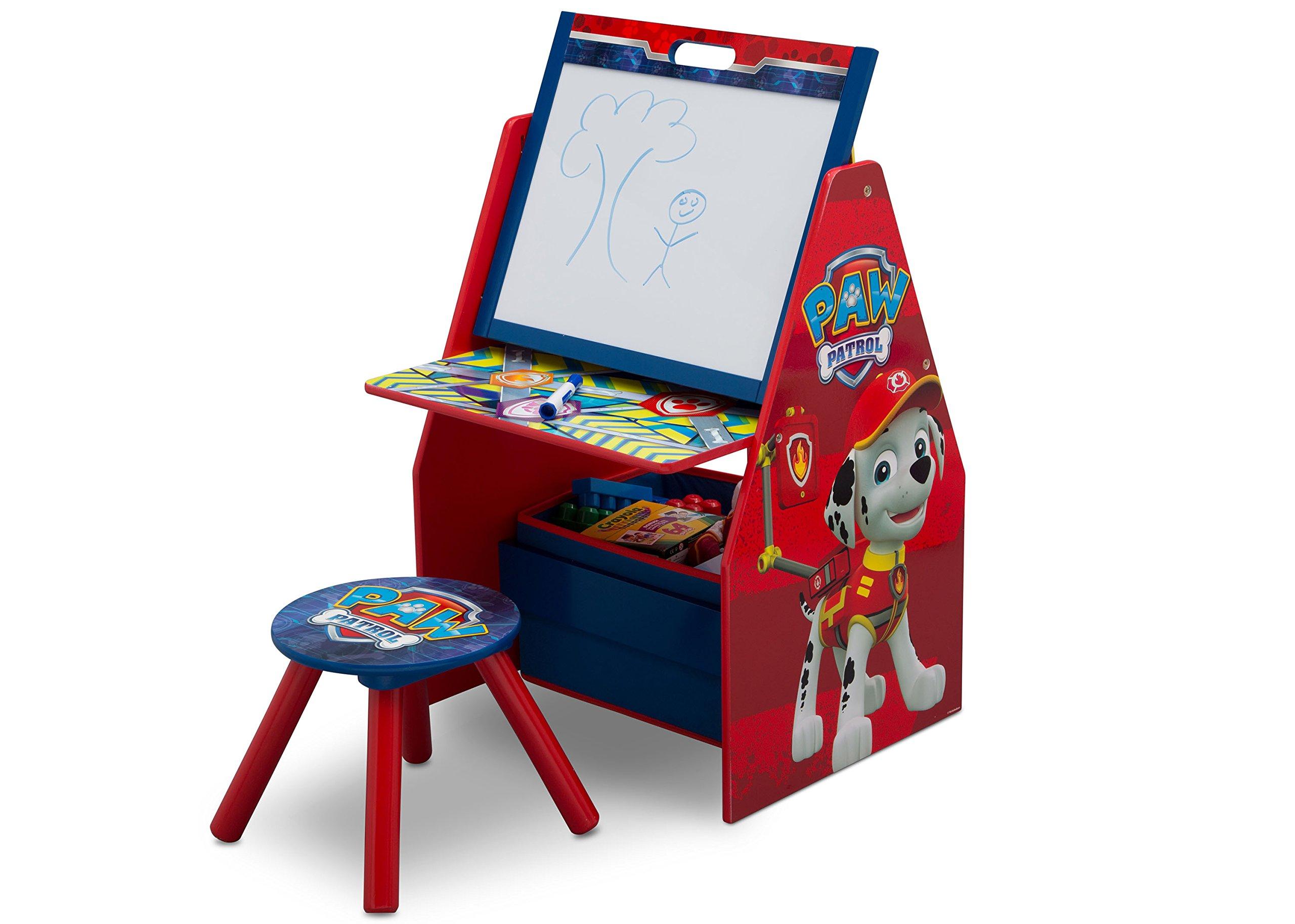 Amazon.com : delta children activity center with easel desk stool