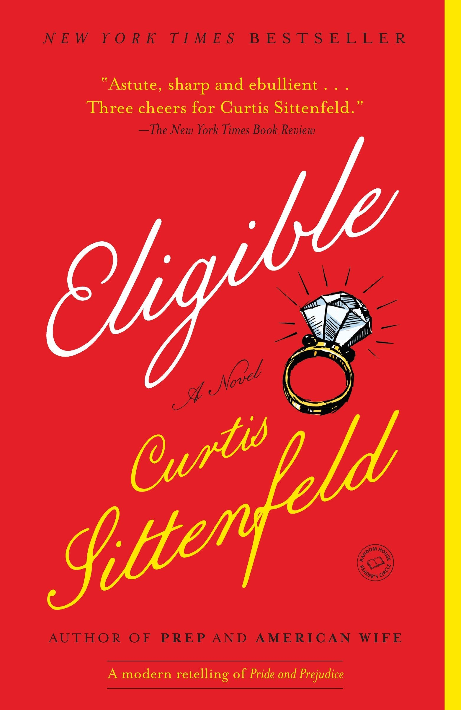 Image result for Eligible by Curtis Sittenfeld