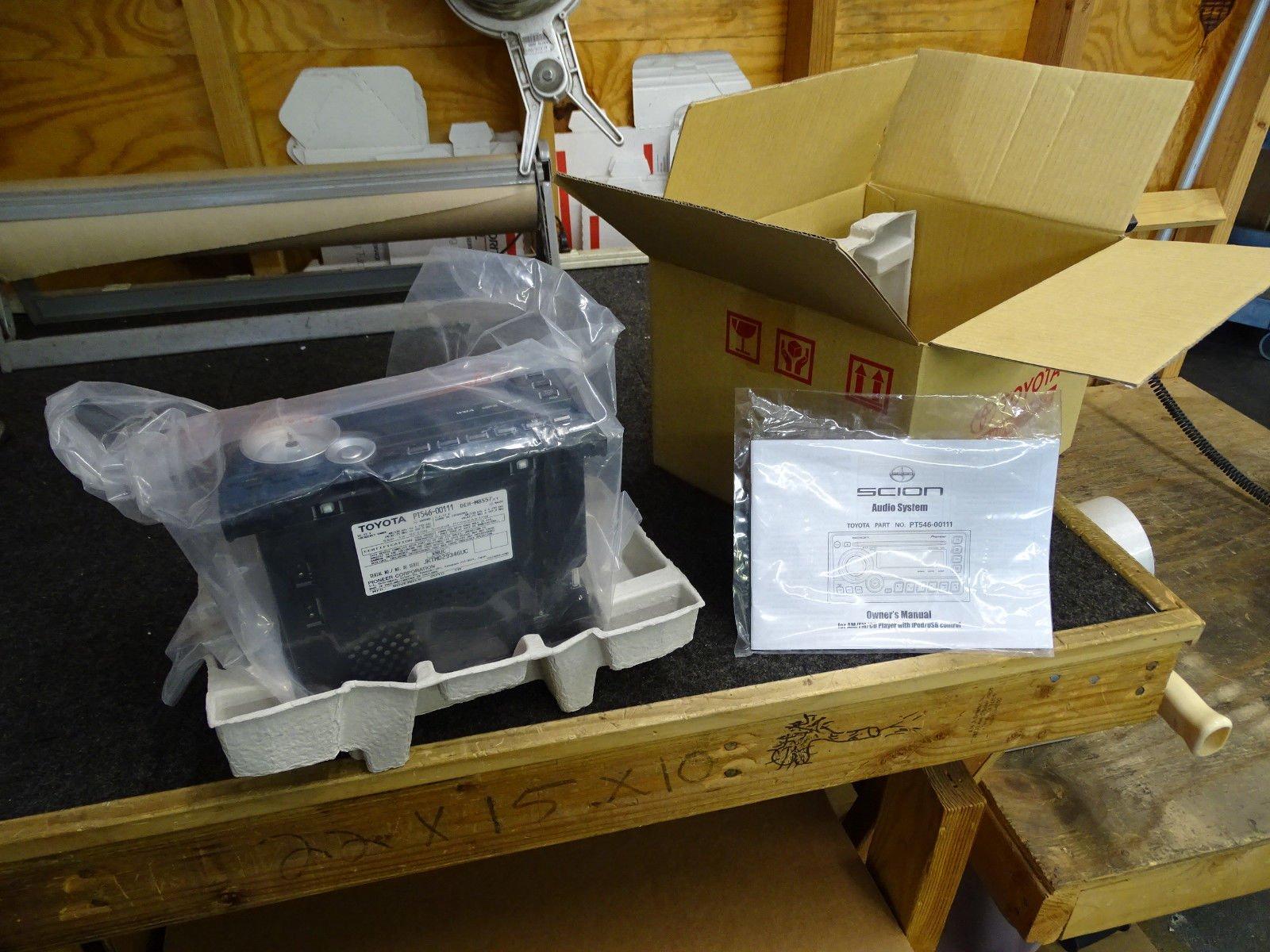 11 12 Scion TC Radio CD Player Pioneer DEH-M8557 PT546-00111 by Pioneer