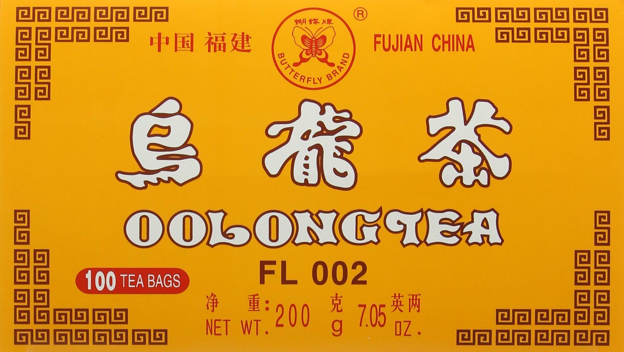 Butterfly Brand Oolong Tea 100 Bags