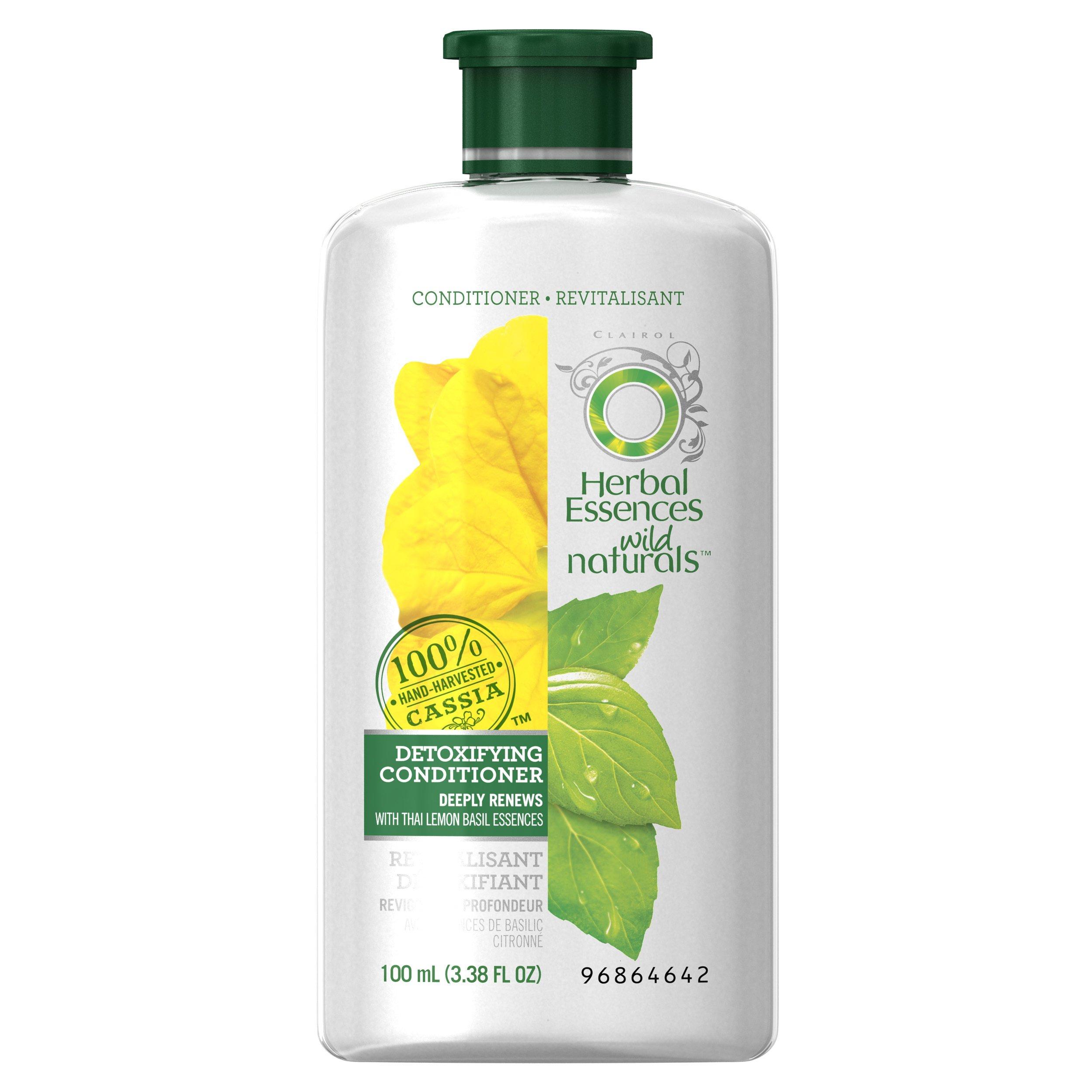 Herbal Essences Wild Naturals Detoxifying Conditioner, 3.38 FL OZ by Herbal Essences (Image #1)