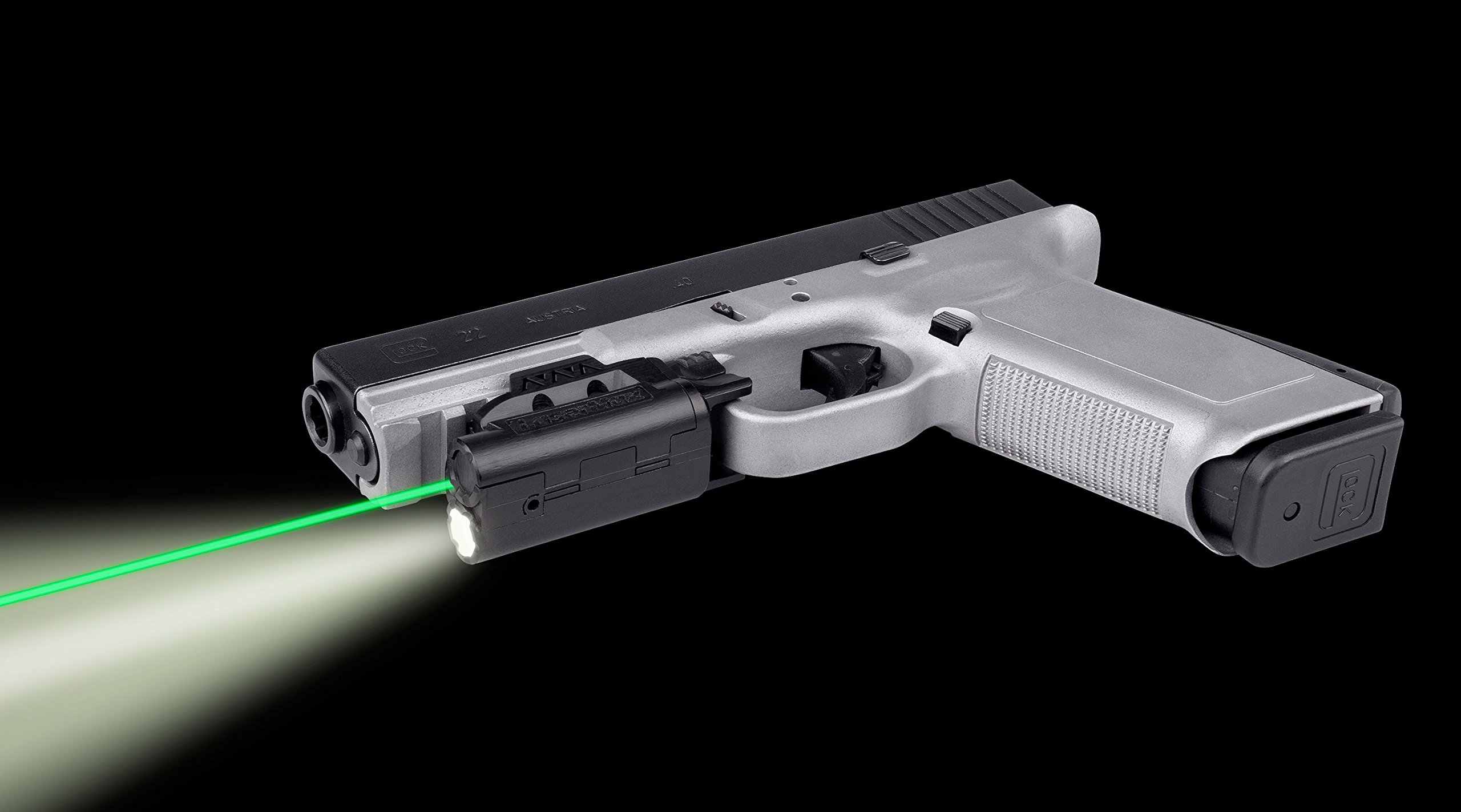 LaserMax Rail Mounted Light/Laser (Green) Requires at least 1 3/4 of rail space by LaserMax (Image #3)