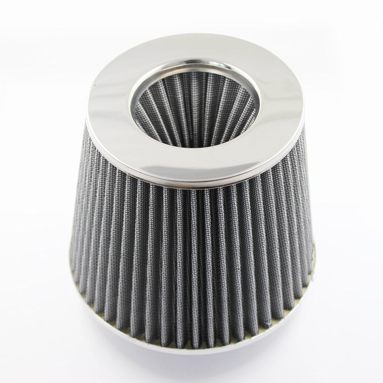 Universal MODAUTO Filtro de Aire Rejilla Di/ámetro 75mm Modelo E450RD Rojo Pieza para Motor Sistemas de Refrigeraci/ón