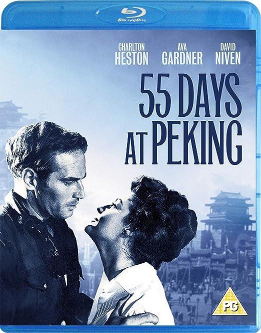 55 Days At Peking [Blu-ray] [Reino Unido]: Amazon.es: Charlton Heston, Ava Gardner, David Niven, Flora Robson, John Ireland, Paul Lukas, Elizabeth Sellars, Yuen Siu Tien, Geoffrey Bayldon, Nicholas Ray, Andrew Marton, Charlton