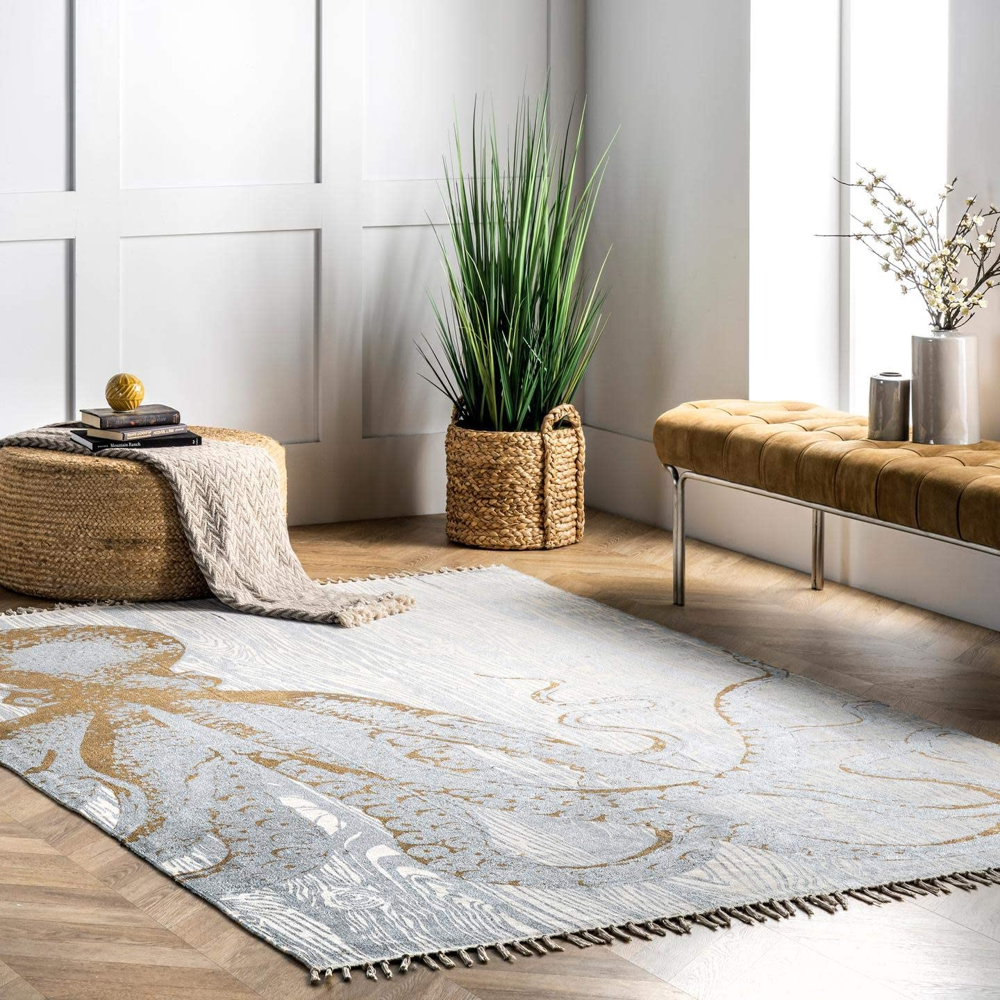 nuLOOM Thomas Paul Metallic Area Rug