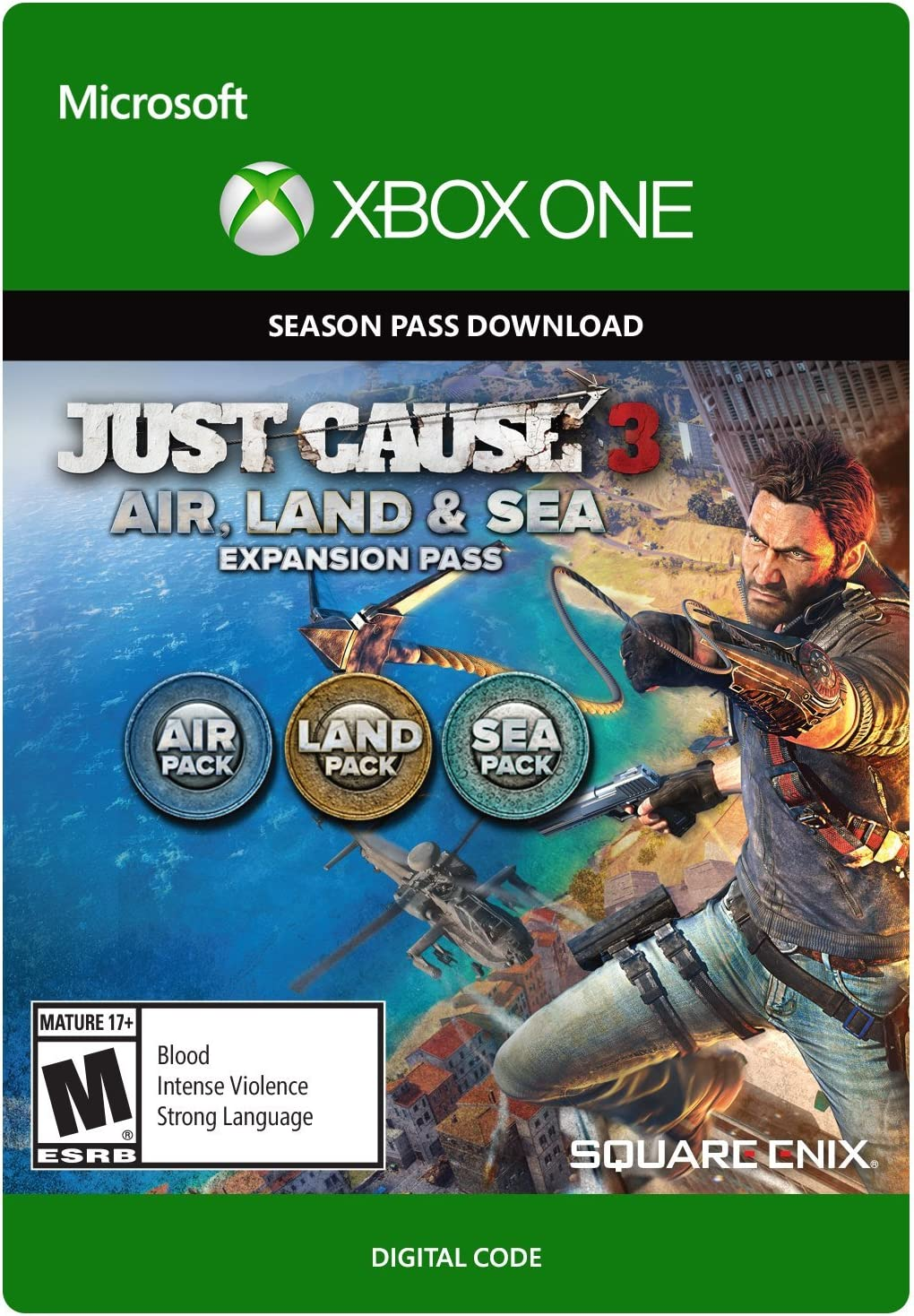 Just Cause 3 Xbox One Digital Code Video Games Little Nightmare Reg
