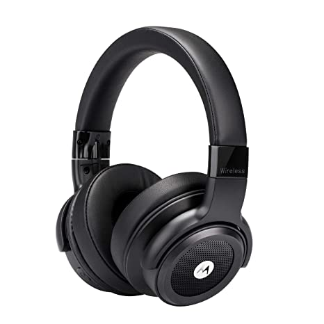 Motorola Escape800 ANC - Auriculares Bluetooth (HD Sound, IP54, 12h) color negro