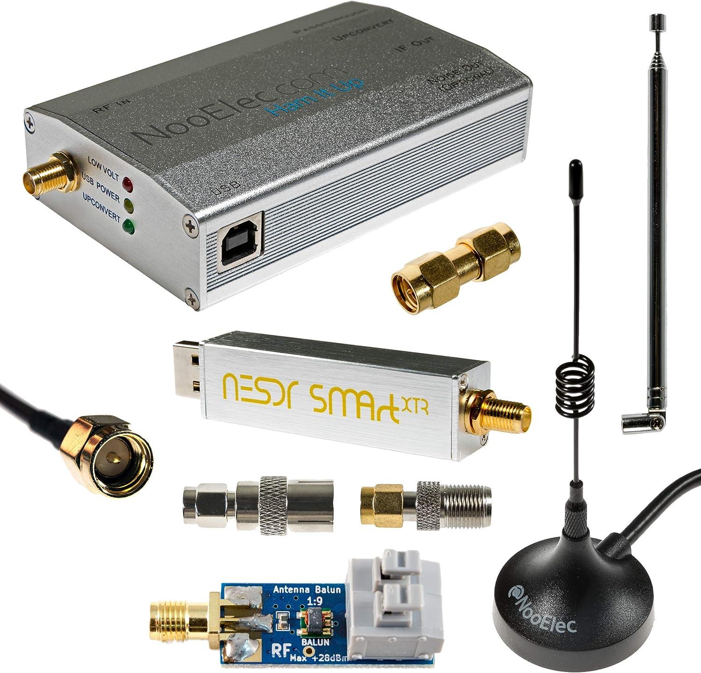 Paquete NESDR SMArt XTR HF: 300Hz-2.3GHz Conjunto de Radio Definido por Software Para LF/HF/UHF/VHF. Incluye NESDR SMArt XTR RTL-SDR, Convertidor ...