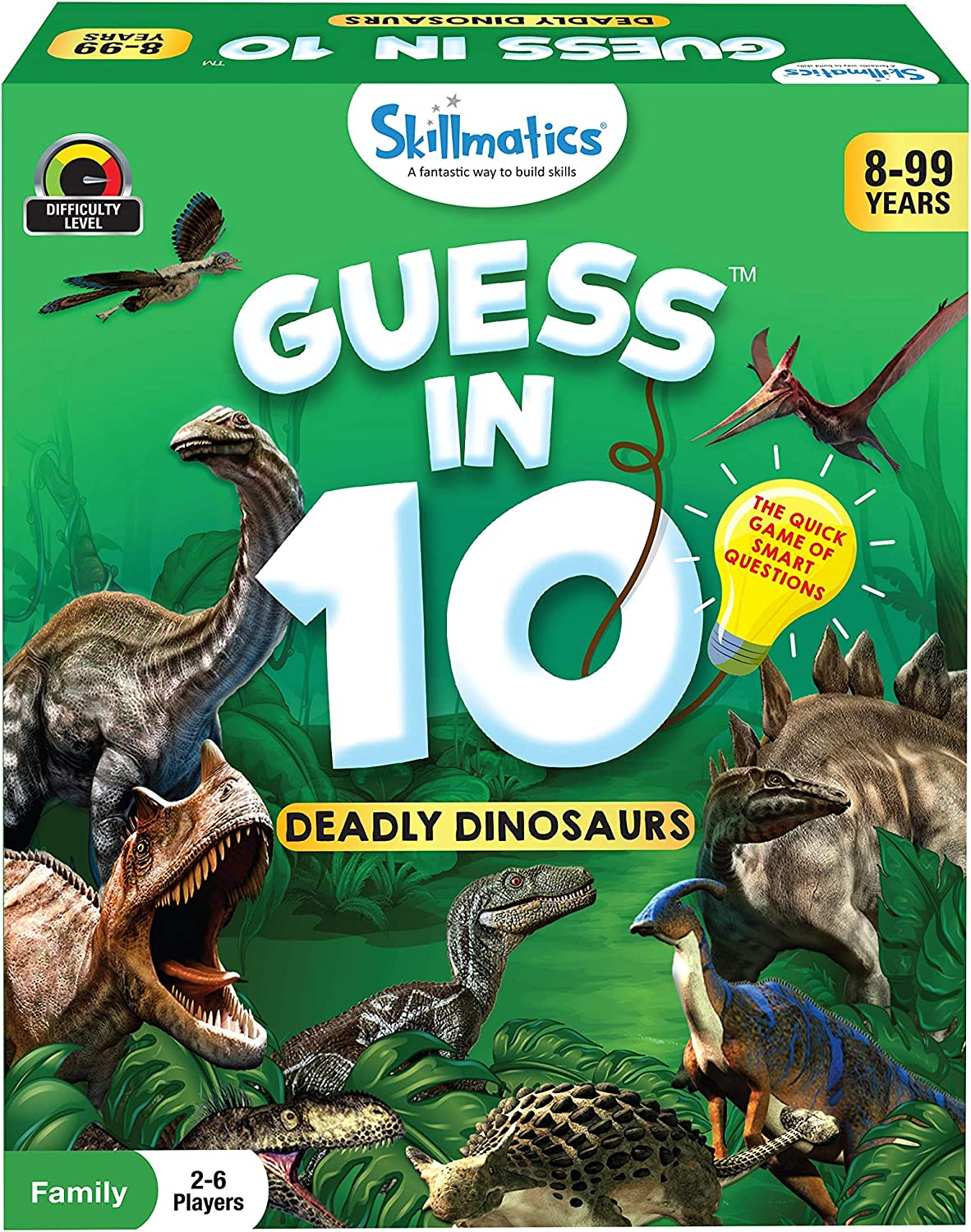 Guess in 10- Dinosaurs