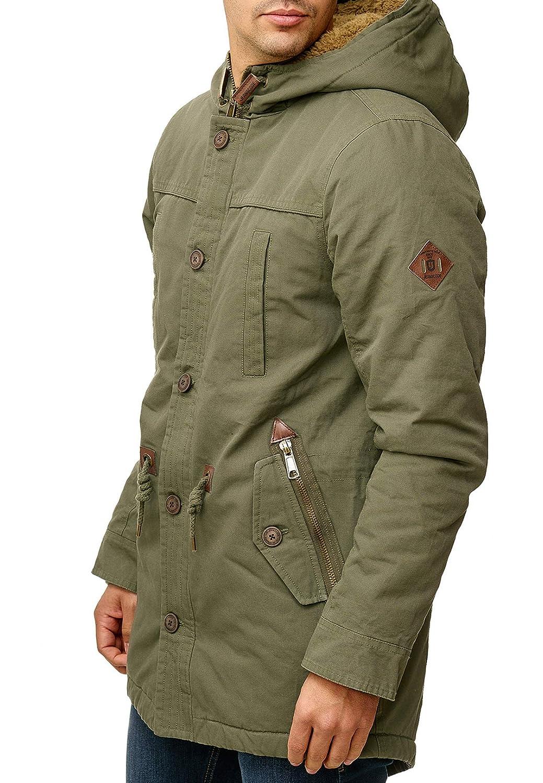 Indicode Herren Barge Winterjacke Parka Herrenjacke Herrenjacke Herrenjacke Lange Jacke mit Kapuze B07KCZNQGW Jacken Obermaterial 5fe494
