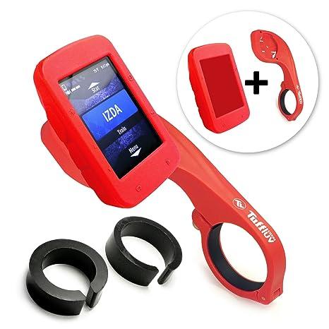 Tuff-Luv I3_73+E4_40_5055261827243 Funda Silicona Rojo maletín para ordenador portátil - Maletines para
