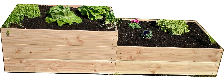 GrünerGarten Verde Jardín Premium Bio Módulo Sistema 3 + 2 Bancal ...