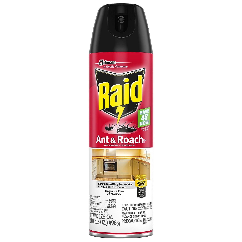 Raid Ant and Roach Killer Fragrance Free, 17.5 OZ (Pack - 1)