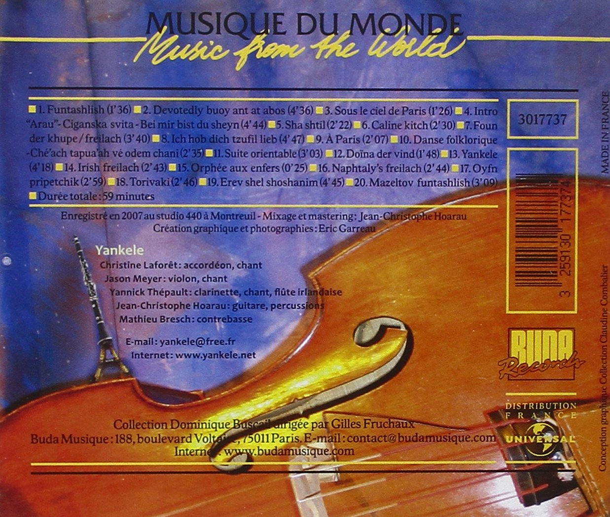 Music From the World: Paris/Klezmer