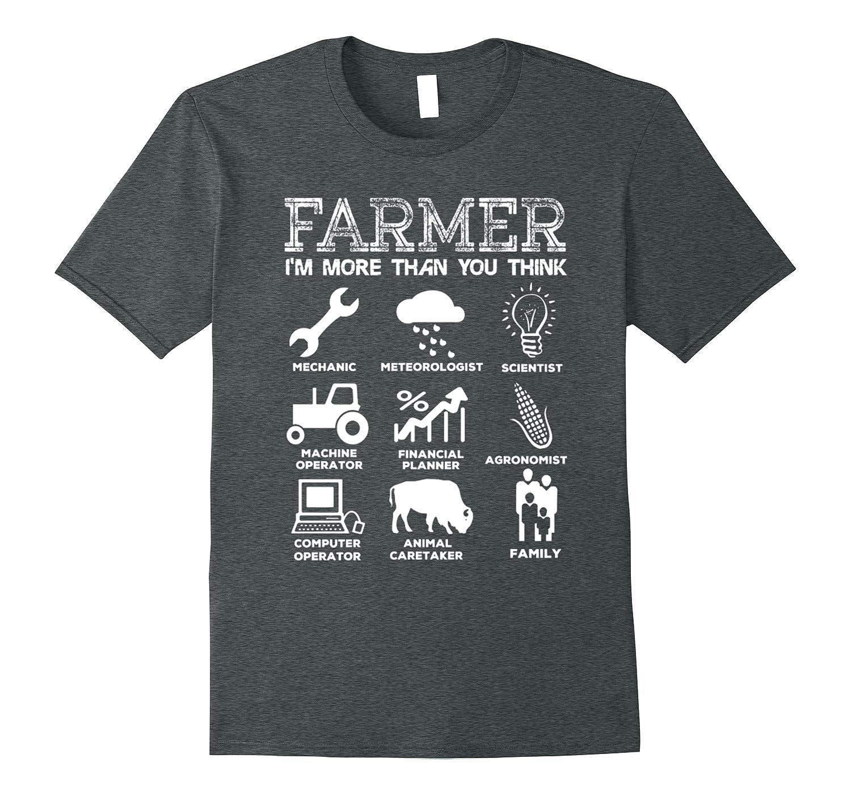 Farmer – Mechanic, meteorologist, scientist