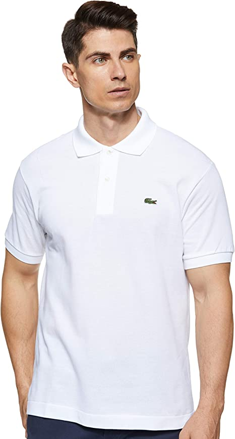 Lacoste Men's Short Sleeve Discontinued L.12.12 Pique Polo Shirt