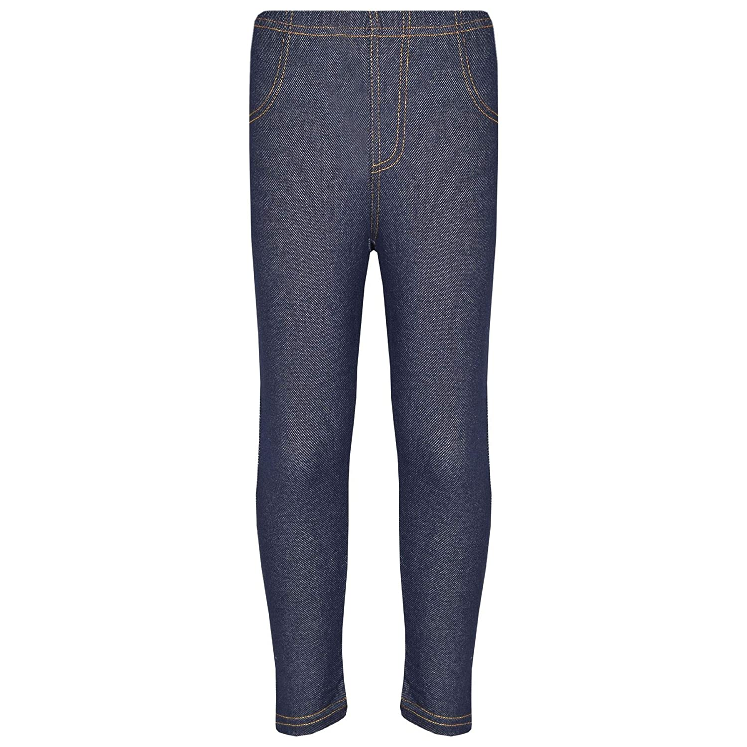 A2Z 4 Kids® Kids Girls Stretchy Jeggings Designer's Blue Denim Stylish Jeans Pants Fashion Trousers Leggings New Age 5 6 7 8 9 10 11 12 13 Years