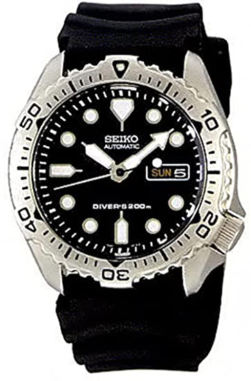 Mens Watch Seiko SKX171 Dive Automatic 200m Diving Rubber