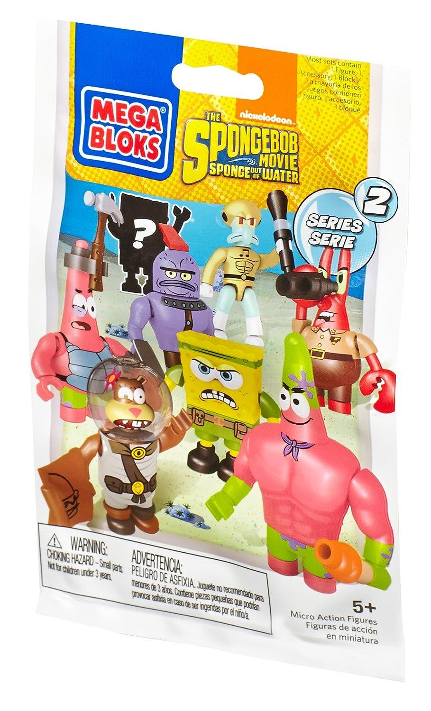 mega bloks spongebob squarepants micro action figures amazon co