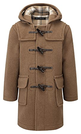 Amazon.com: Kids Classic Duffle Coat (Toggle Coat) in Camel: Clothing
