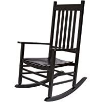 Shine Company Vermont Rocking Chair, Black