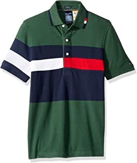 d7530ecc Tommy Hilfiger Adaptive Men's Polo Shirt with Magnetic Buttons Custom Fit
